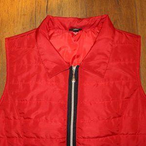 Hannah Sleeveless  Puffer Jacket Vest Sz. XL